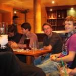 Lars, Daniel, Marcel, Jan, Peter, Andi, Matthias (von links)
