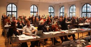 Gemeinsamer BA von EUD und JEF. Bild: Europa-Union Deutschland / Chris Sebald.